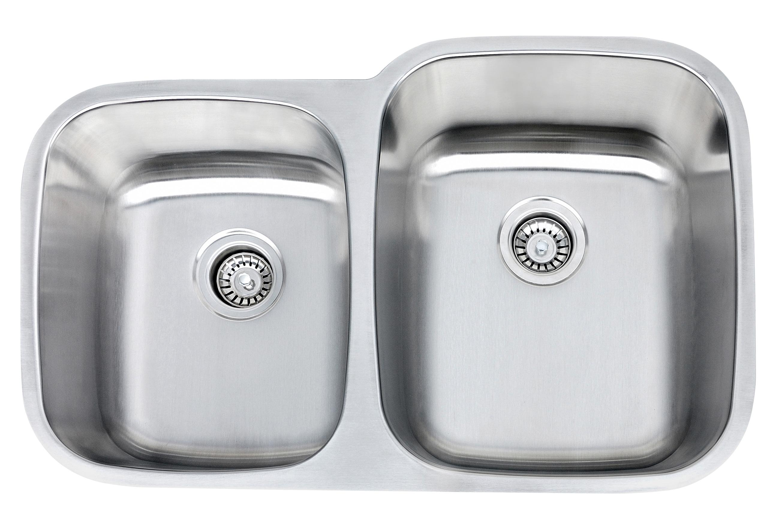Undermount Kitchen Sink KY907-46 40/60 | KpaxInc